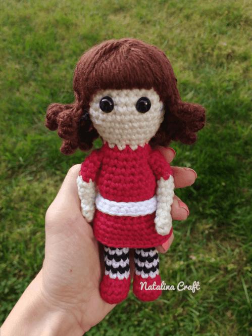 Free Lolita Doll amigurumi pattern - Amigurumi Today | 665x499