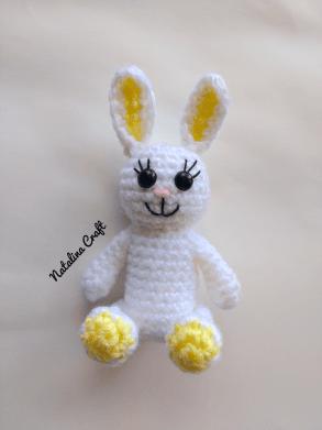 Patron gratuit – Lapin Modèle au Crochet pour Amigurumi ... | 391x293