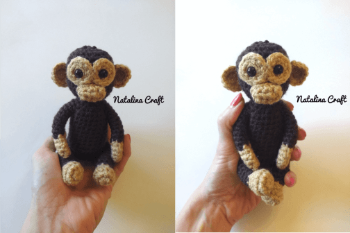 Crochet Little Monkey Amigurumi Free Pattern - #Amigurumi; #Monkey ... | 336x504