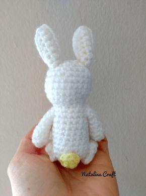 Doudou lapin au crochet – patron gratuit | Mon P\'tit Trésor | 387x290