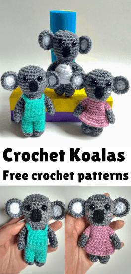 Amigurumi Koala Crochet Pattern | Supergurumi | 550x264