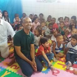 Visita à Escola Municipal Dom Eugênio de Araújo Sales. Periperi, 21.08.2017.