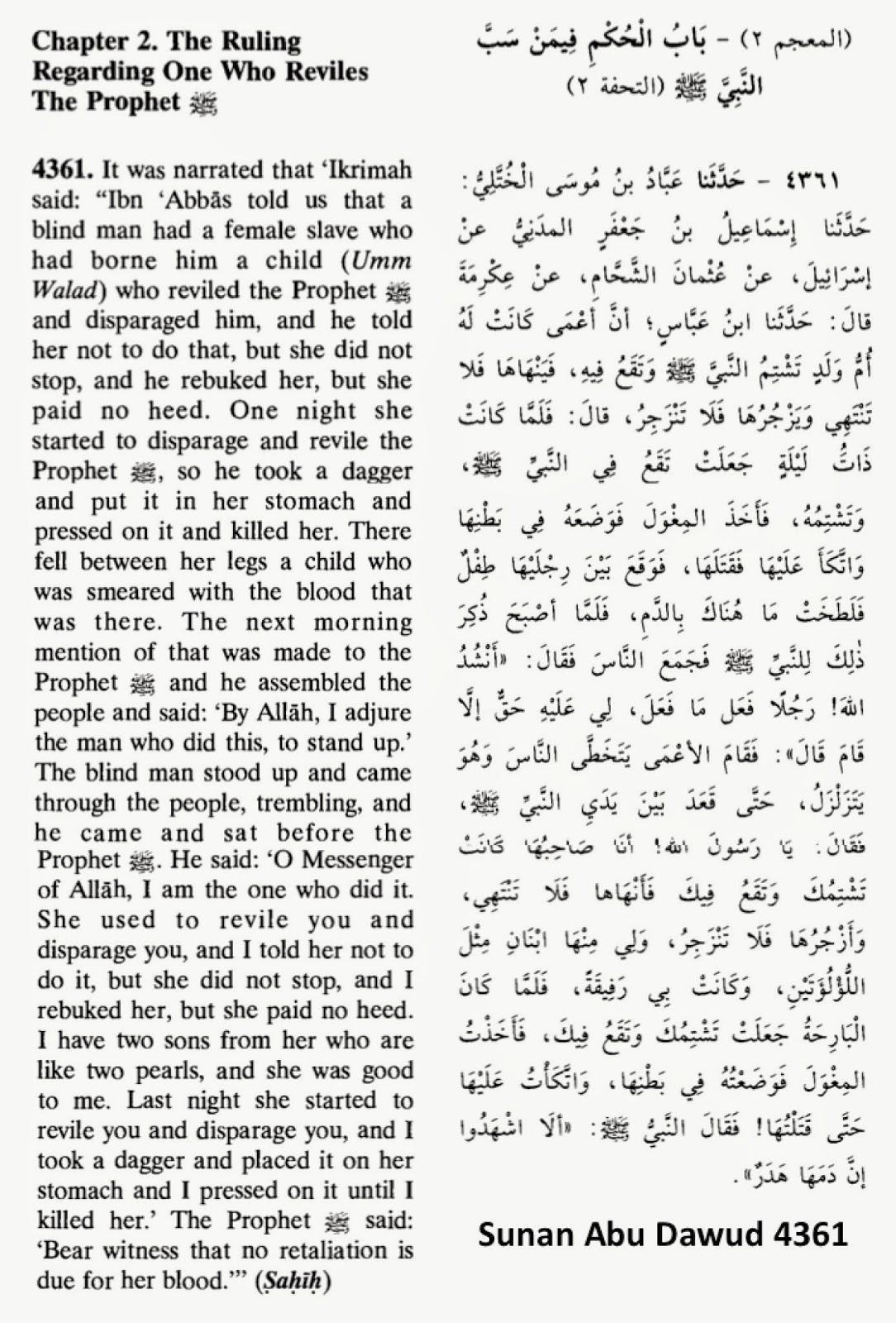 Sunan Abu Dawud 4361