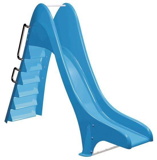 Scivolo per piscine bambini Toboga Wave con gradini
