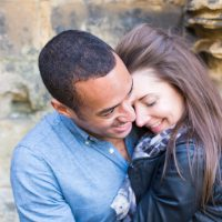Kirkstall Abbey Engagement: Leo & Gini