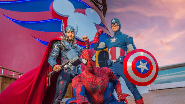 Marvel Day no Disney Cruise Line