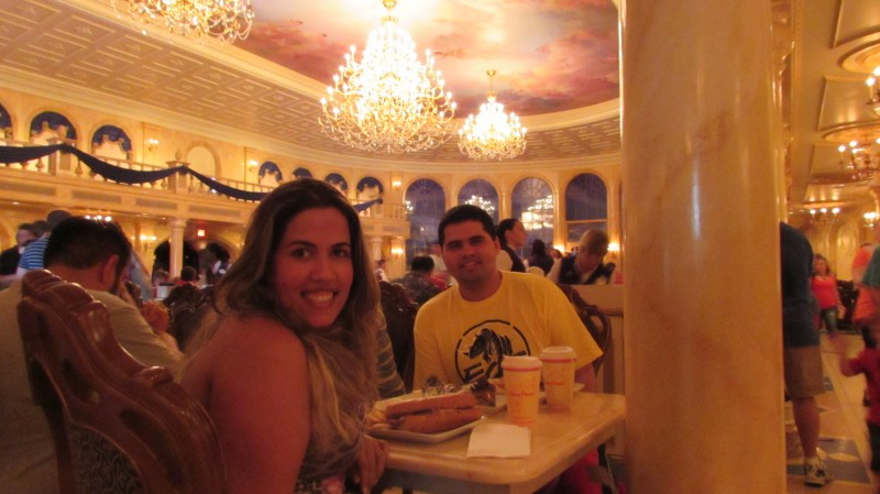 Restaurante Be Our Guest - Magic Kingdom