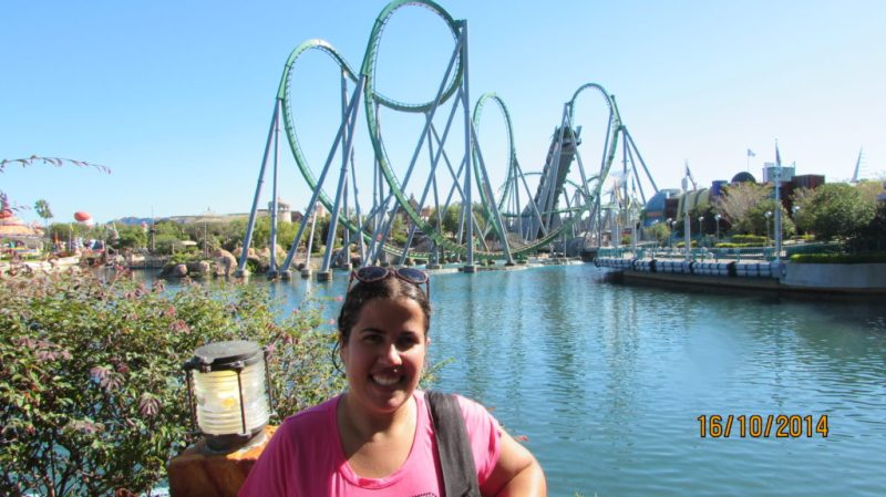 The Incredible Hulk Coaster - Universal Studios