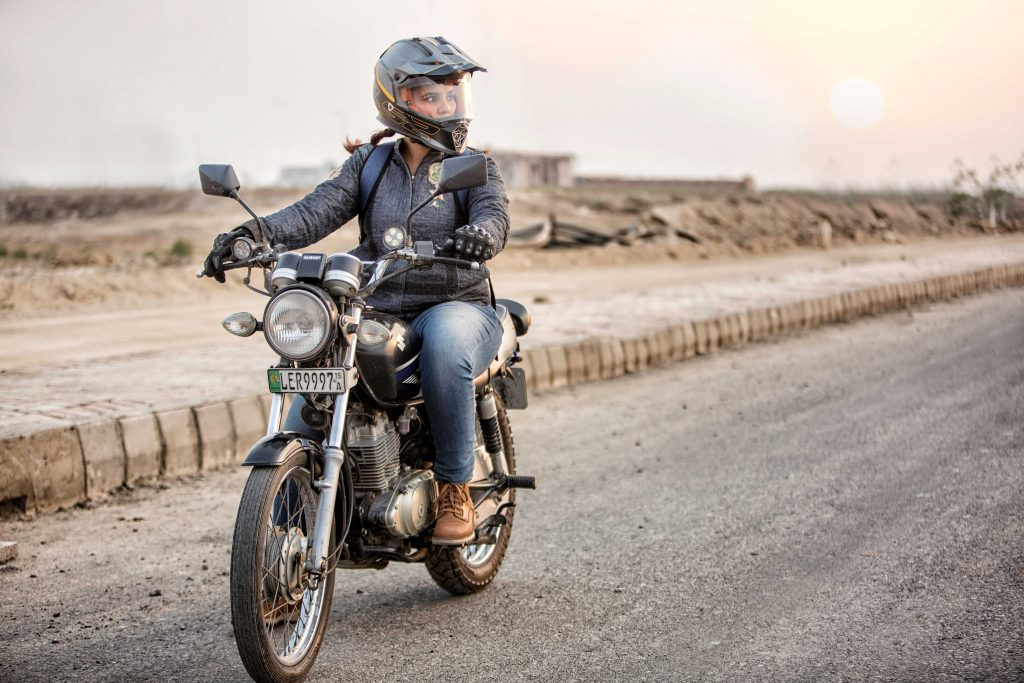 Interview With Motorcycle Girl: Zenith Irfan