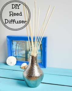 How to Make a Reed Diffuser - DIY Essential Oil Air Freshener