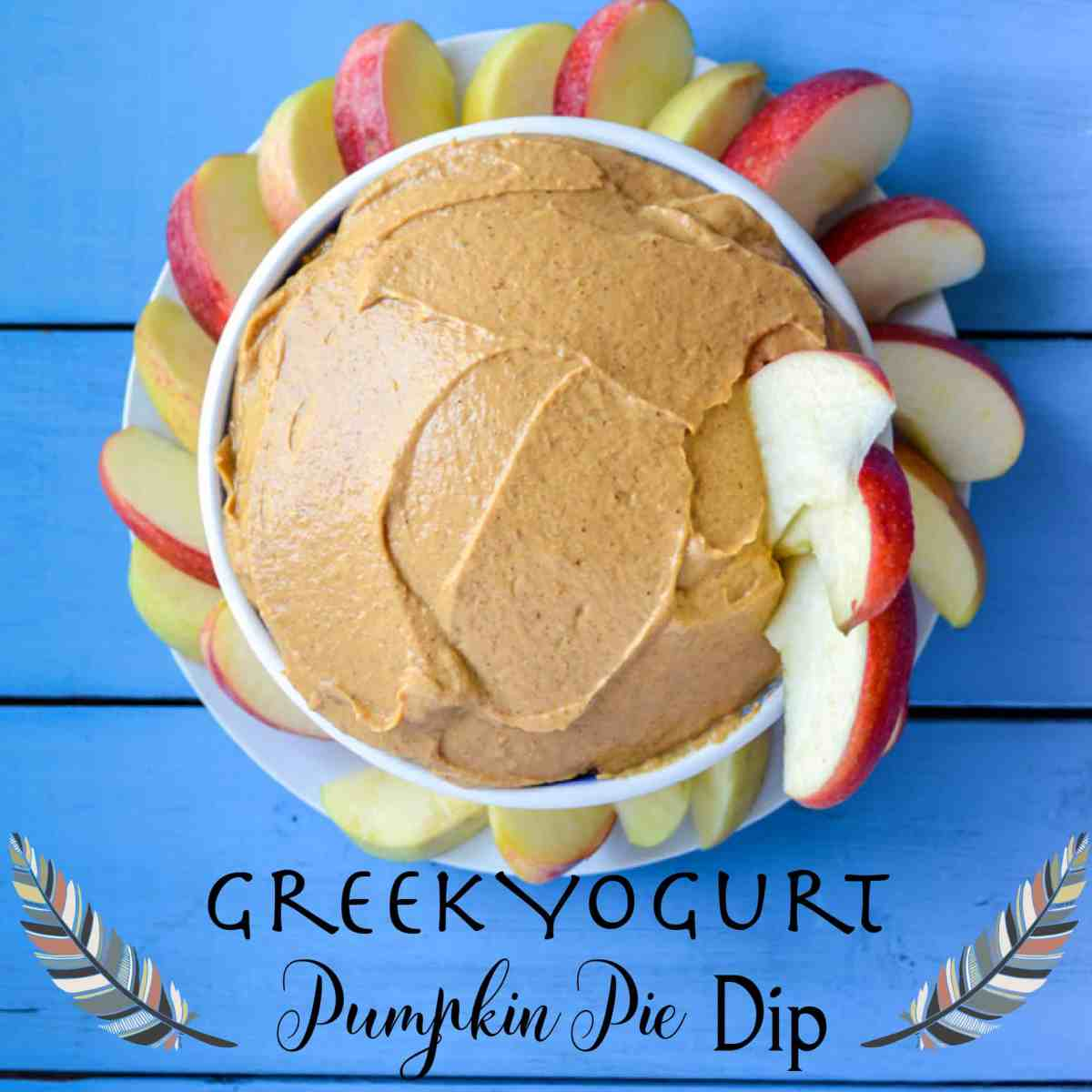 Greek Yogurt Pumpkin Pie Spice Fruit Dip