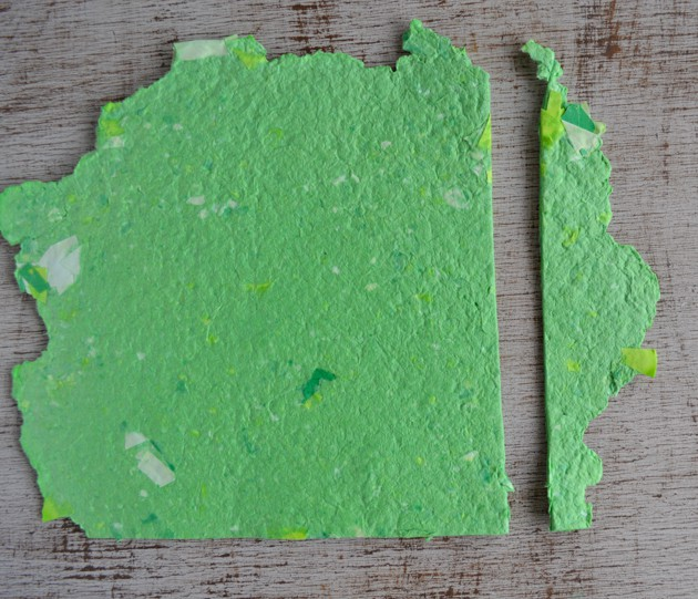 how to make recycled paper