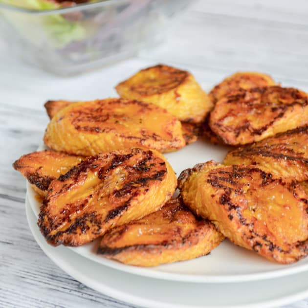 baked sweet plantains