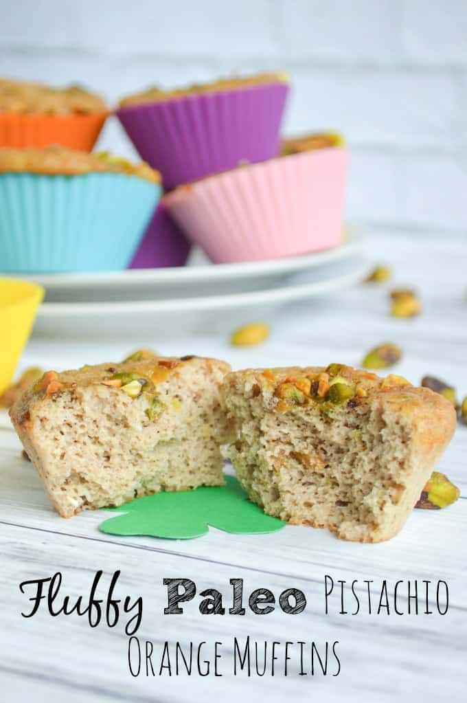 Fluffy Paleo Pistachio Muffins 1