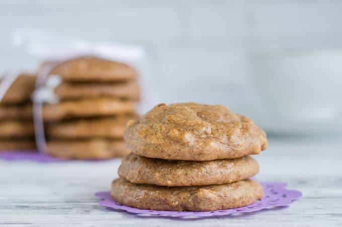Paleo Almond Banana Breakfast Cookies