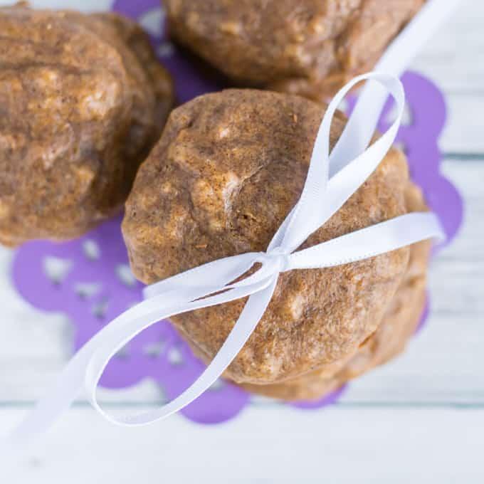 flour free almond banana breakfast cookies