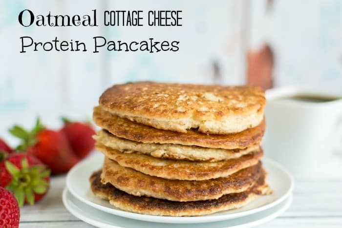 Pre Workout Cottage Cheese Oatmeal Protein Pancakes No