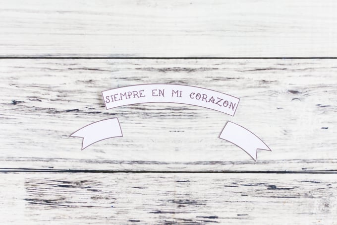 cut out banner printable