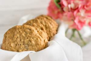 Bakery Style Oatmeal Granola Cookies Recipe