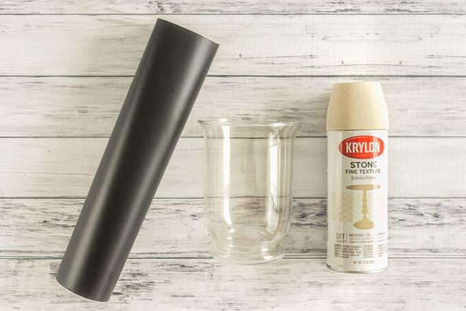 supplies for sand texture summer beach vase