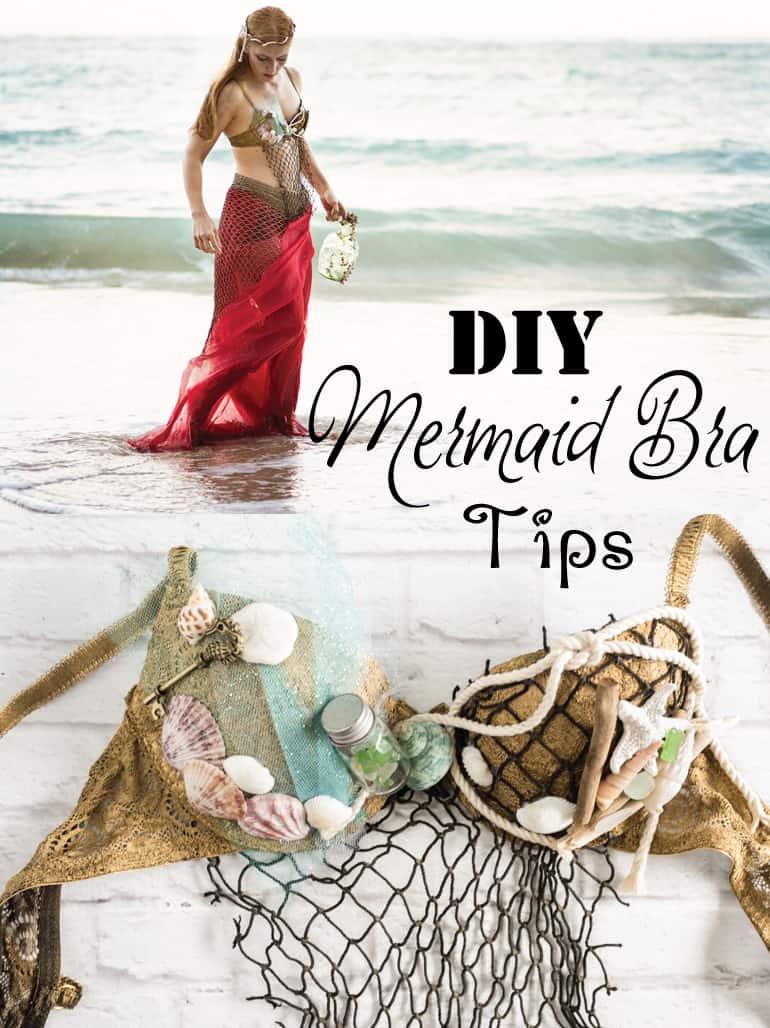 How to Make a Mermaid Bra Tips