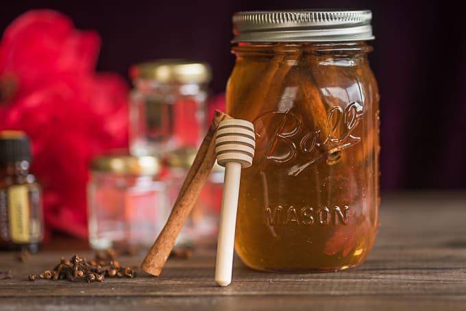 spiced cinnamon honey diy