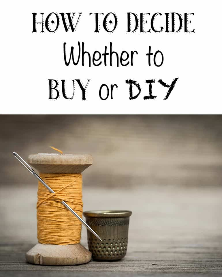 Deciding Whether to Buy or DIY & a Fabric Coil Rug Tutorial