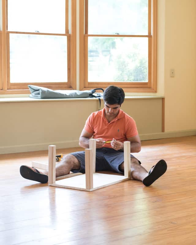 building a montessori infant table