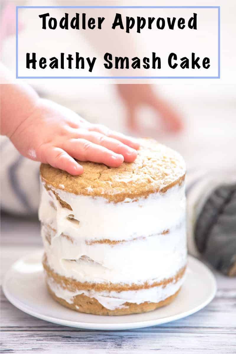 toddler approved healthy smash cake recipe