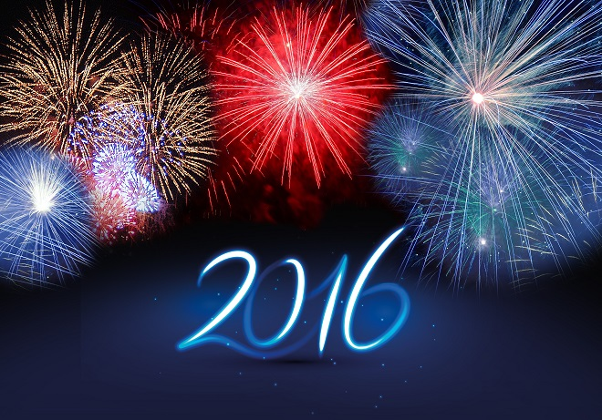 2016 - Happy New Year!