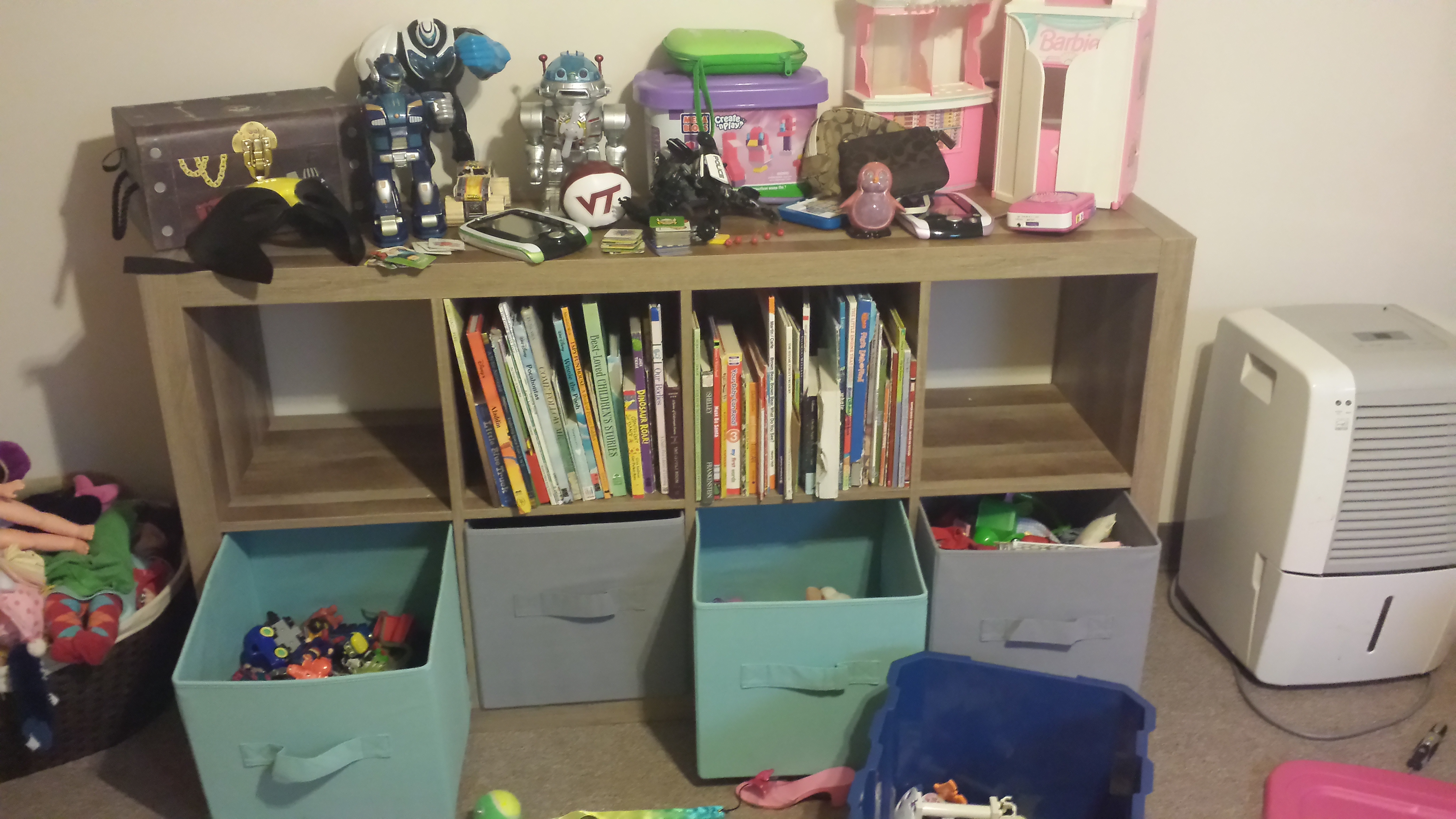 I Can Move A Shelf From The Trunk Of My Van, Around Some Bushes And Into My  Kids Room And Put It Together All Without Any Help.