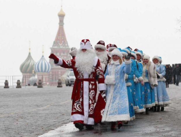 Come si festeggia il Natale in Russia padre gelo