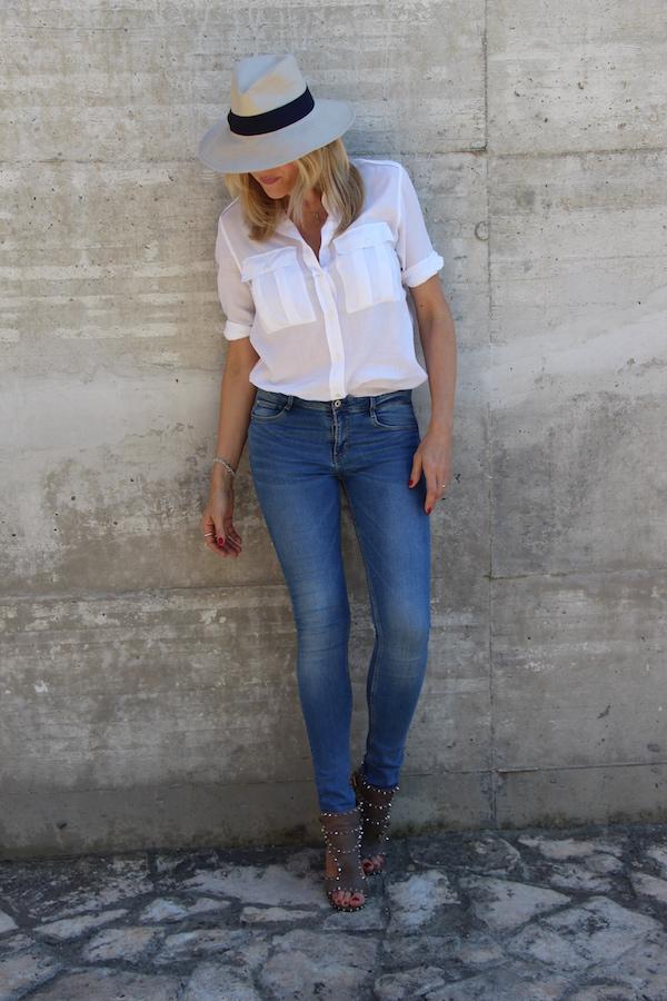 Come Scegliere i Jeans Adatti al Tuo Corpo skinny Natasha Stefanenko