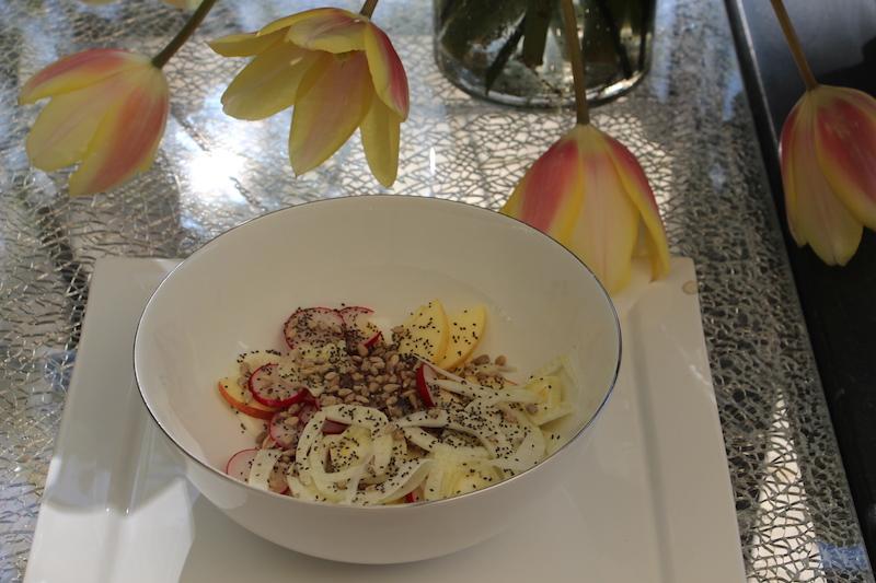 Ricette Insalata con le Mele light