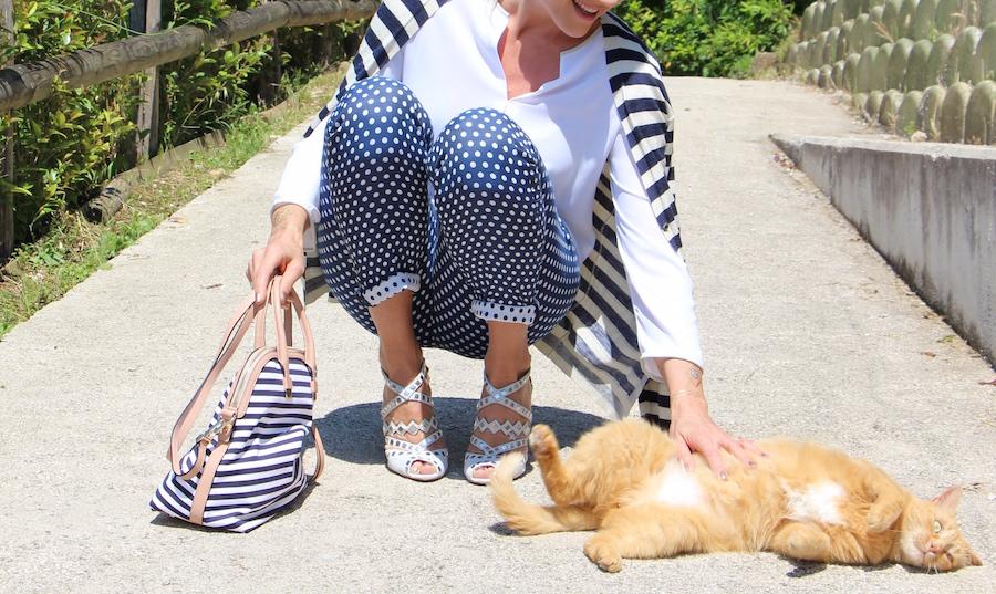 Outfit Elegante Estivo sandali Alaia