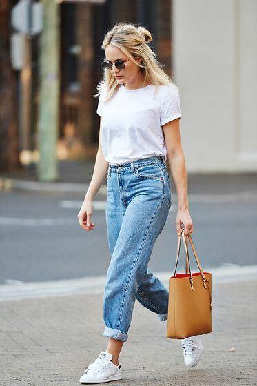Come portare bene i jeans dopo i 40 boyfriend