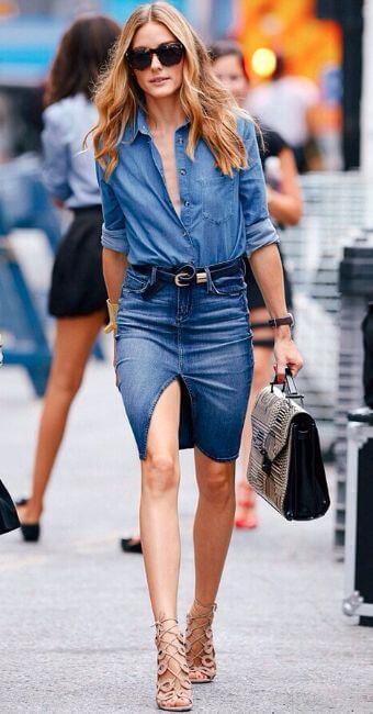 Come portare bene i jeans dopo i 40 olivia palermo
