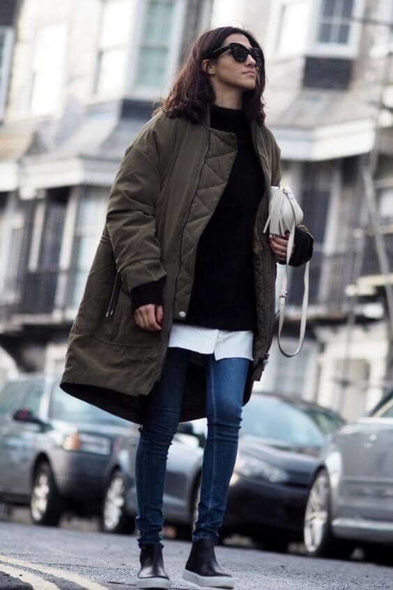 Как стильно сочетать палантин с пальто изоражения