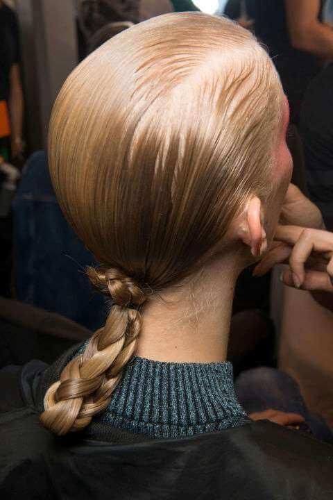 Tendenze capelli primavera 2017 chignon