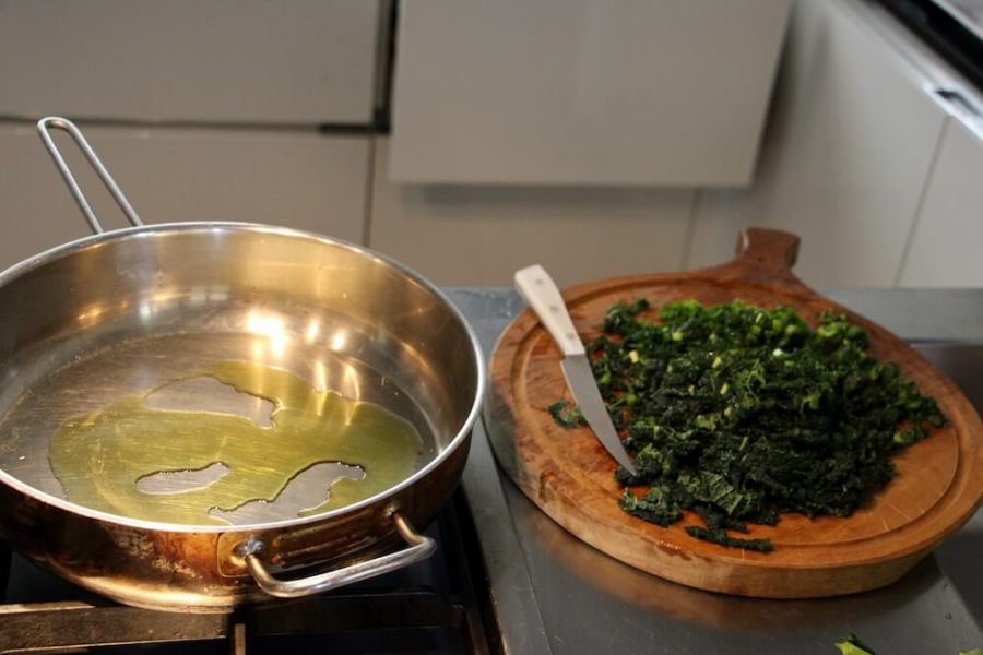 ricetta cavolo nero preparazione