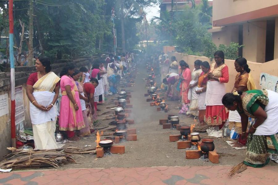 Путешествие в Кералу, кухня