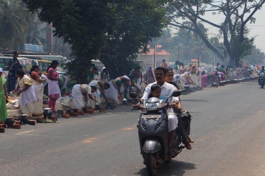 Путешествие в Кералу, на дороге