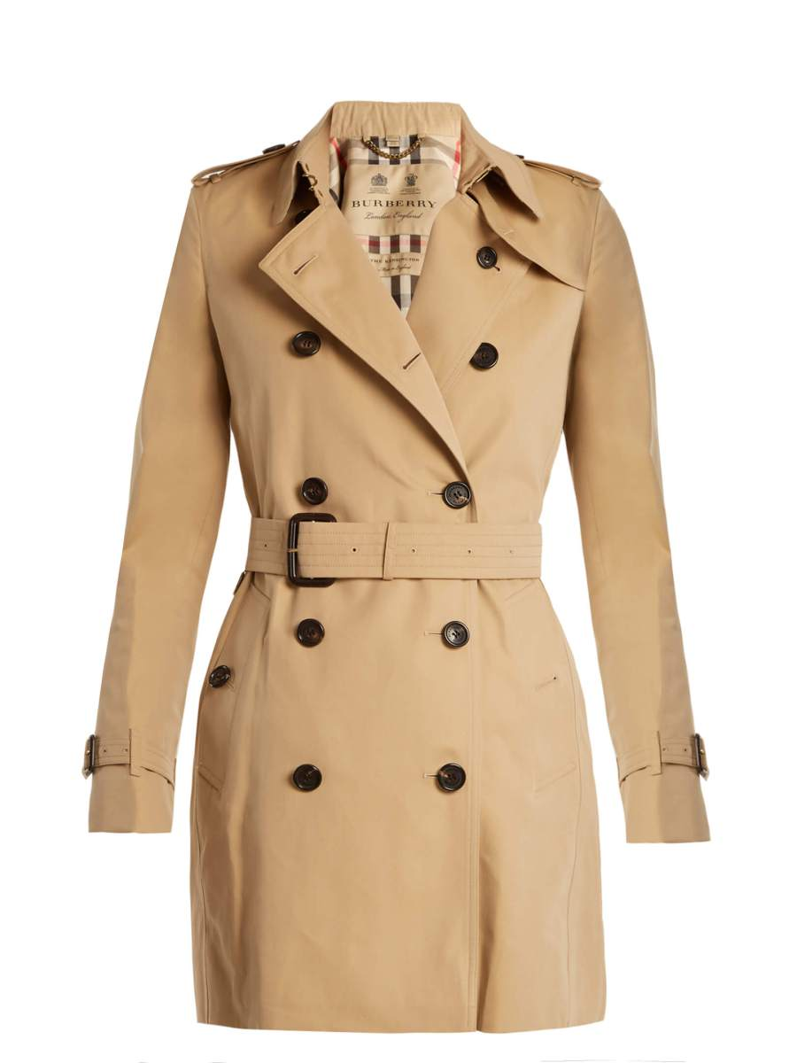 capi d'abbigliamento classici trench Burberry