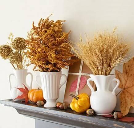 decorare casa con le foglie d'autunno Midwest Living