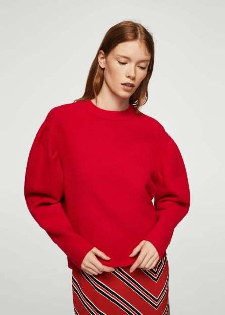 vestirsi di rosso pull mango 2