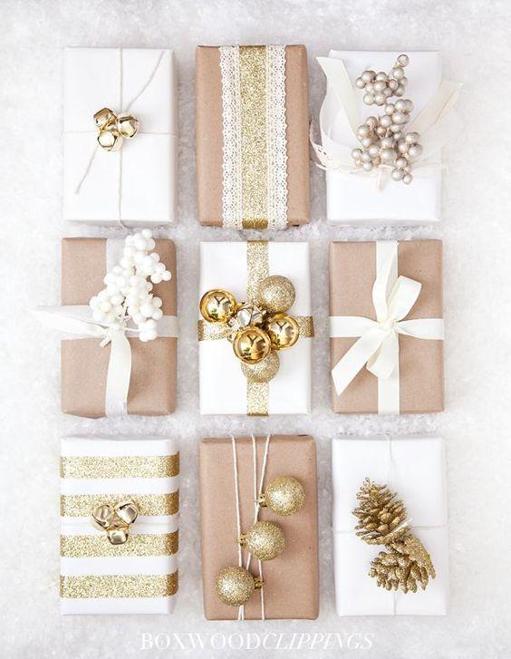 impacchettare i regali di Natale Politics of Pretty