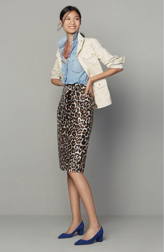 7 modi inusuali di indossare il tubino al lavoro leopardo