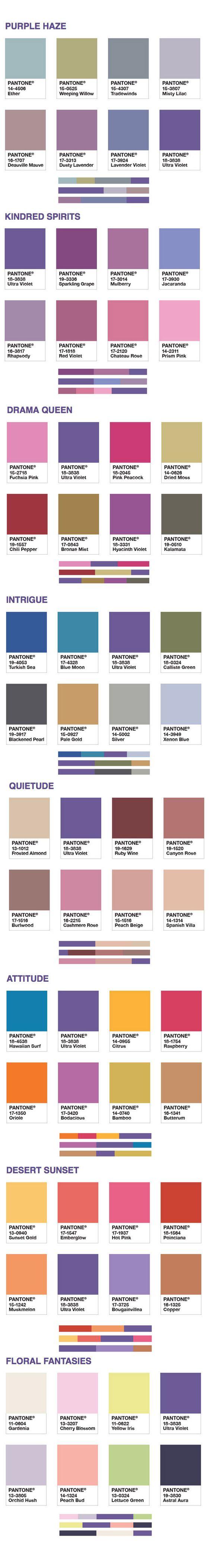 Ультра-фиолет - цвет 2018 года, сочетания
