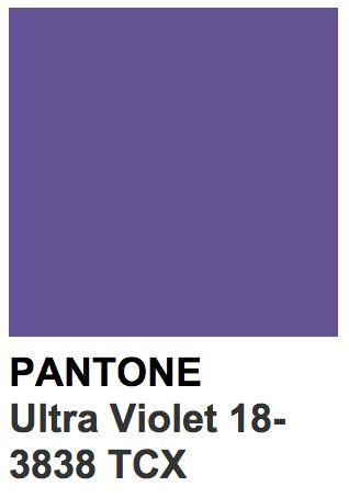 Ультра-фиолет - цвет 2018 года, pantone