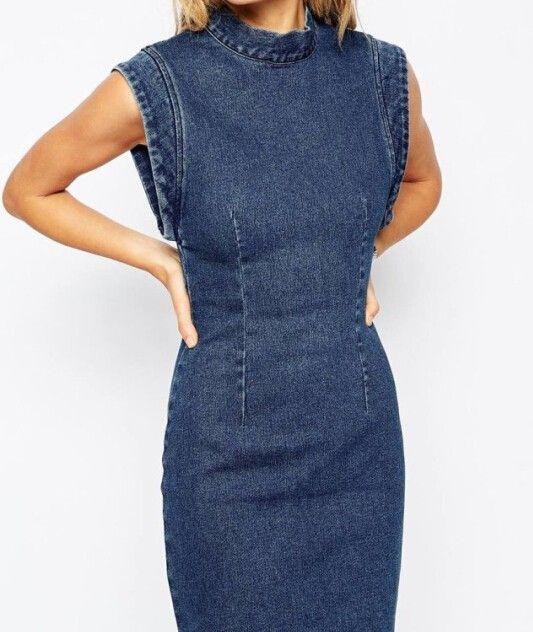 Jeans e denim 2018 10 idee per indossarlo tubino